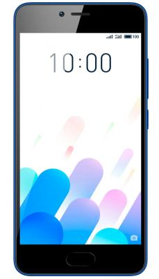 Смартфон Meizu M5c синий 5 16 Гб LTE Wi-Fi GPS 3G смартфон meizu m6 золотистый 5 2 16 гб lte wi fi gps