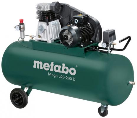 Компрессор Metabo MEGA 520-200 D компрессор metabo power 25010 w of 601544000