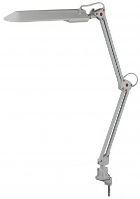 Настольная лампа Эра NL-201 серый NL-201-G23-11W-GY эра nl 255 g10q 13w gr