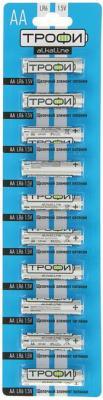 Батарейки ТРОФИ LR6-10BL LR6 10 шт