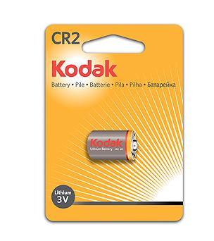 Батарейка KODAK CR2 KCR2-1 12/72/11592 CR2 1 шт kodak i2820