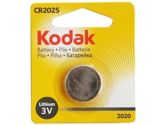 Батарейка KODAK CR2025-1BL CR2025 1 шт