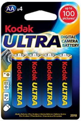 Батарейки KODAK Ultra Digital LR6-4BL AA 4 шт