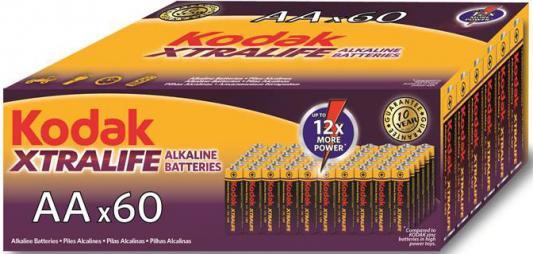 Батарейки Kodak Xtralife LR6-60 (4S) 60 шт KAA-60 60/720/18720