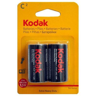 Батарейки KODAK Extra Heavy Duty R14-2BL/(R14P) KCHZ-2 20/200/8400 R14 2 шт