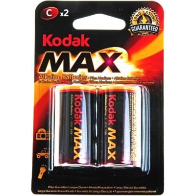Батарейки KODAK Max LR14-2B KC-2 20/200/6000 LR14 2 шт