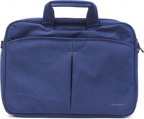 """Сумка для ноутбука 15.6"""" Continent CC-012 нейлон синий"""