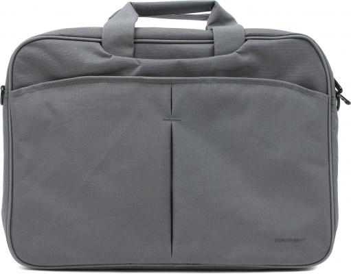 Сумка для ноутбука 15.6 Continent CC-012 нейлон серый