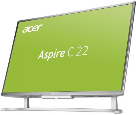Моноблок 21.5 Acer C22-760 DQ.B8WER.004 1920 x 1080 Intel Core i3-7100U 4Gb 500Gb Intel HD Graphics 620 DOS серебристый DQ.B8WER.004 моноблок 21 5 lenovo thinkcentre m800z 1920 x 1080 intel core i3 6100 4gb 500gb intel hd graphics 530 windows 10 professional черный 10ew001sru