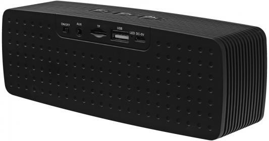 Портативная акустика Ginzzu GM-875B черный смартфон ginzzu s5050 черный