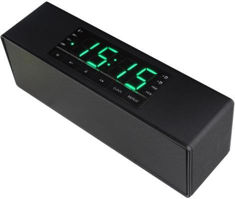 Портативная акустика Ginzzu GM-883B черный аксессуар магнитоконтакт ginzzu hs s02w white беспроводной