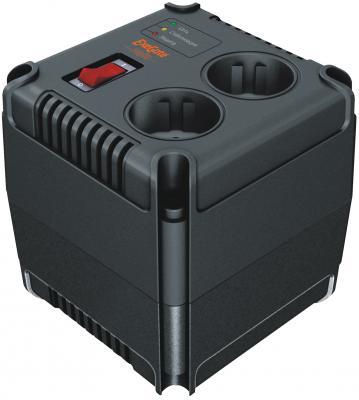 Стабилизатор напряжения Exegate Power AD-1000 черный 2 розетки EP259012RUS стабилизатор напряжения exegate ad 1000