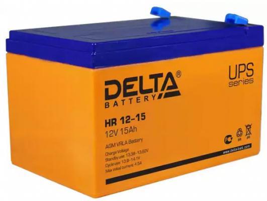 Батарея Delta HR 12-15 15Ач 12B от 123.ru