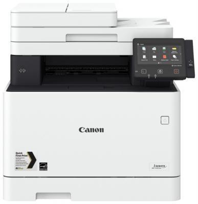 МФУ Canon MF734Cdw цветное A4 27ppm 600x600dpi Ethernet USB Wi-Fi 1474C028 мфу canon i sensys colour mf635cx цветное a4 18ppm 600x600dpi ethernet usb wi fi 1475c038