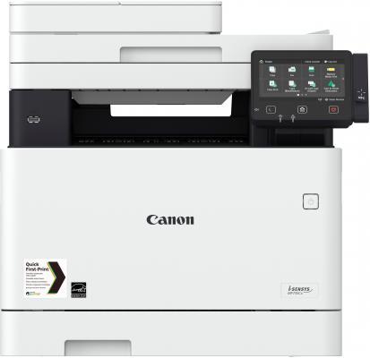 МФУ Canon MF732Cdw цветное A4 27ppm 600x600dpi Ethernet USB Wi-Fi 1474C013 мфу canon i sensys colour mf635cx цветное a4 18ppm 600x600dpi ethernet usb wi fi 1475c038