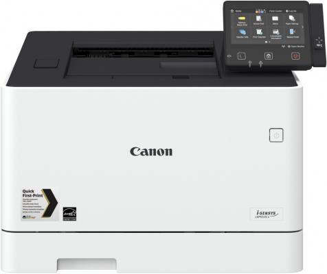 Принтер Canon i-SENSYS LBP654Cx цветной A4 27ppm 600x600dpi USB Ethernet Wi-Fi 1476C001 canon 712 1870b002 black картридж для принтеров lbp 3010 3020