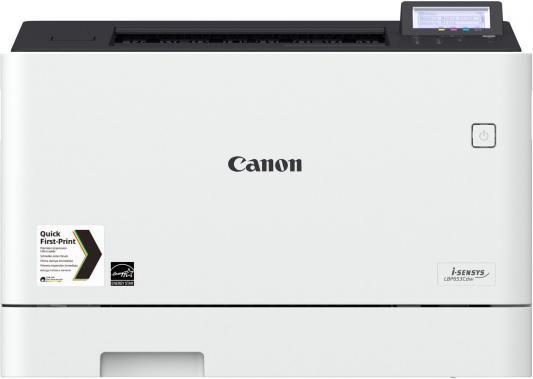 Принтер Canon i-SENSYS LBP653Cdw цветной A4 27ppm 600x600dpi USB Ethernet Wi-Fi 1476C006 принтер samsung sl c430w цветной a4 18стр мин 600x600dpi ethernet wi fi usb