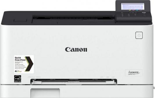 Принтер Canon i-SENSYS LBP611Cn цветной A4 18ppm 600x600dpi USB Ethernet 1477C010 canon 712 1870b002 black картридж для принтеров lbp 3010 3020