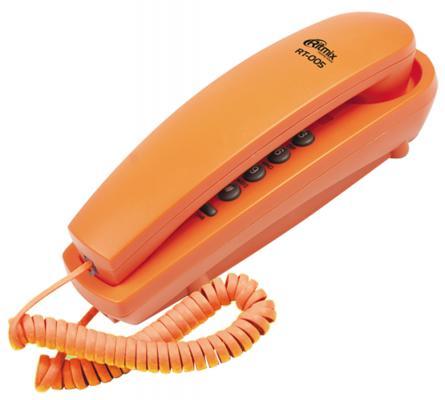 Телефон Ritmix RT-005 оранжевый