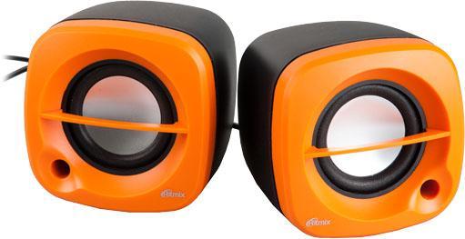 Колонки Ritmix SP-2030 2x2.5 Вт черно-оранжевый