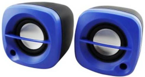 Колонки Ritmix SP-2030 2x2.5 Вт черно-синий