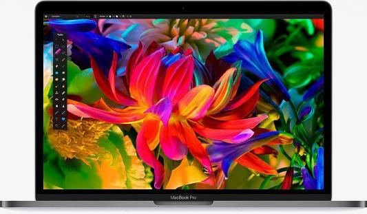 "Ноутбук Apple MacBook Pro 13.3"" 2560x1600 Intel Core i5 SSD 256 8Gb Intel Iris Plus Graphics 640 серый macOS MPXT2RU/A"