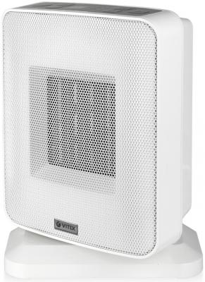 Тепловентилятор Vitek VT-2052(GY) 1500 Вт термостат белый цена 2017