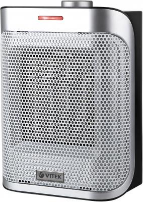 Тепловентилятор Vitek 2051(BK) 1500 Вт термостат серый