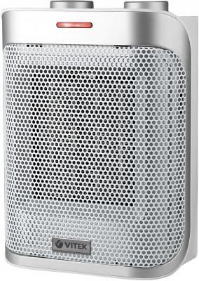 Тепловентилятор Vitek VT-2050 GY 1500 Вт термостат серебристый серый vitek vt 1984 gy