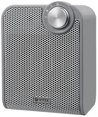 все цены на Тепловентилятор Vitek VT-1753 GY 1500 Вт термостат серый онлайн