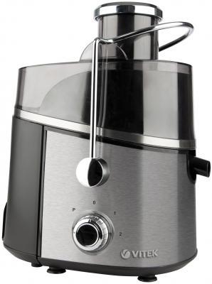Соковыжималка Vitek VT-3657 ST 900 Вт нержавеющая сталь серебристый чёрный