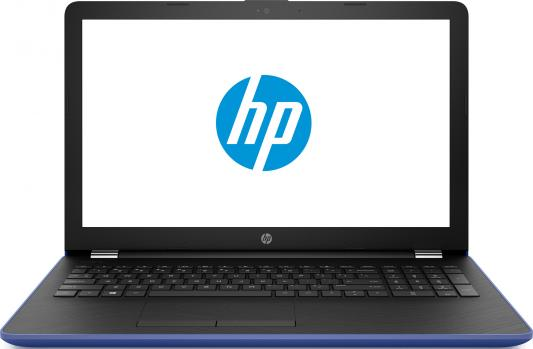 "Ноутбук HP 15-bs058ur <1VH56EA> i3-6006U (2.0)/4Gb/500Gb/15.6""HD/Int: Intel HD 520/No ODD/Win10 (Marine blue)"