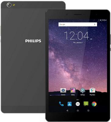 Планшет Philips TLE821L 8 16Gb серый Wi-Fi 3G Bluetooth LTE Android TLE821L планшет philips в рязани