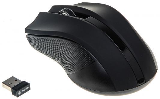лучшая цена Мышь беспроводная Oklick 615MW чёрный USB