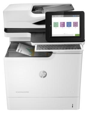 МФУ HP Color LaserJet Enterprise M681f J8A11A цветное A4 47ppm 1200x1200dpi Ethernet USB мфу hp color laserjet m377dw a4 600x600dpi 24ppm ethernet usb