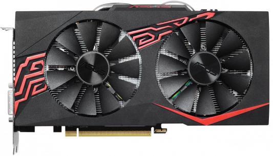 Видеокарта 6144Mb ASUS GeForce GTX1060 PCI-E 192bit GDDR5 DVI HDMI DP HDCP EX-GTX1060-6G Retail видеокарта 2048mb asus geforce gt730 с cuda pci e 64bit gddr5 dvi hdcp hdmi gt730 sl 2gd5 brk retail