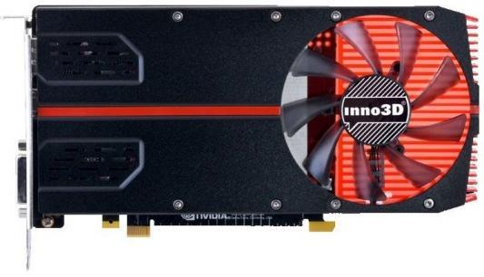 Видеокарта 2048Mb Inno3D GeForce GTX 1050 Compact PCI-E 128bit GDDR5 DVI HDMI DP HDCP N10502-1SDV-E5CM Retail