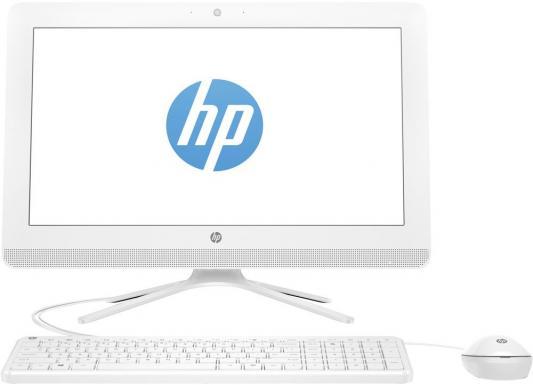 "Моноблок 19.5"" HP 20-c038ur 1600 x 900 Intel Celeron-J3060 4Gb 500Gb Intel HD Graphics 400 4096 Мб Windows 10 белый 1EE38EA"