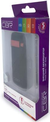 Портативное зарядное устройство CBR CBP-4040 4000мАч черный портативное зарядное устройство cbr cbp 4040 4000мач черный