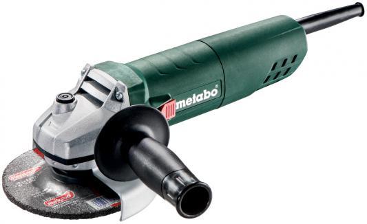 Углошлифовальная машина Metabo W 850-125 850 Вт 601233000