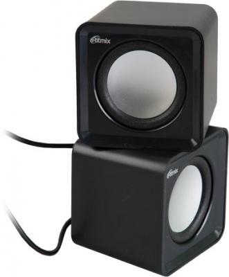 Колонки Ritmix SP-2020 2x2 Вт USB черный