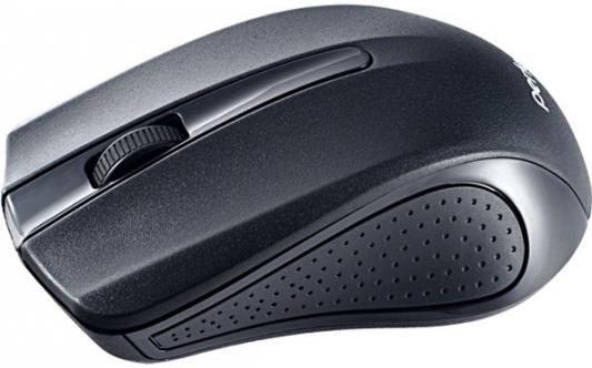 Мышь беспроводная Perfeo Rainbow чёрный USB + радиоканал PF-353-WOP-B мышь perfeo usb black orange pf 353 wop or