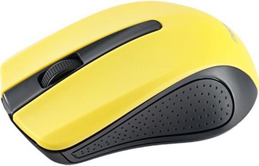 все цены на  Мышь беспроводная Perfeo Rainbow чёрный жёлтый USB PF-353-WOP-Y  онлайн