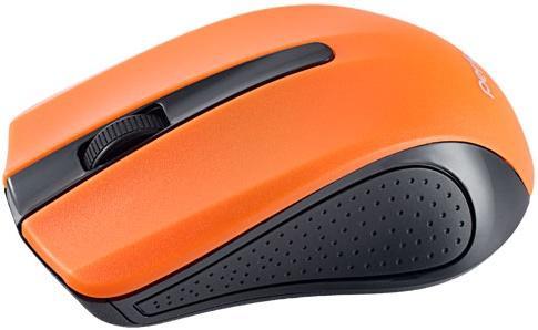 Мышь беспроводная Perfeo Rainbow оранжевый чёрный USB PF-353-WOP-OR мышь беспроводная perfeo pf 763 wop w y белый жёлтый usb радиоканал