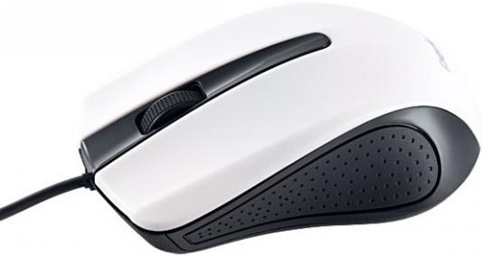 Мышь проводная Perfeo Rainbow белый чёрный USB PF-353-OP-W
