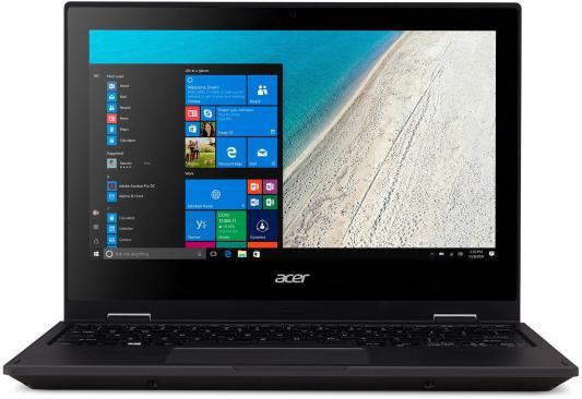 "Ноутбук Acer TravelMate TMB118-RN-C8Q3 Celeron N3350/4Gb/32Gb/Intel HD Graphics/11.6""/IPS/Touch/FHD (1920x1080)/Windows 10 Professional 64/black/WiFi/BT/Cam"