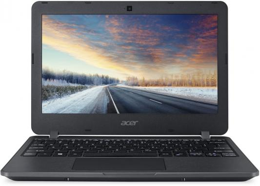 "Ноутбук Acer TravelMate TMB117-M Celeron N3060/2Gb/32Gb/Intel HD Graphics/11.6""/HD (1366x768)/Windows 10 Professional 64/black/WiFi/BT/Cam"