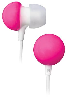 Наушники BBK EP-1140S розовый наушники bbk ep 1200s вкладыши белый проводные