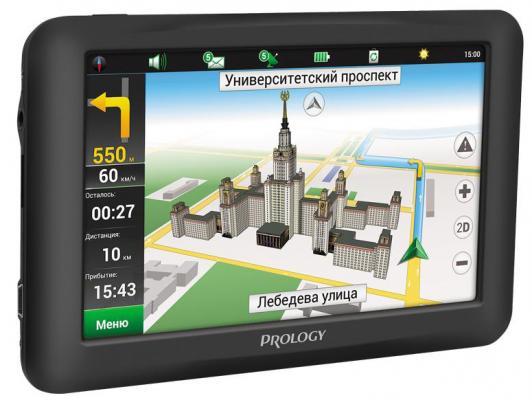 """Навигатор Prology iMap-5950 Навител 5"""" 800x480 SD черный"""