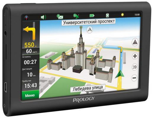 Навигатор Prology iMap-5900 Навител 5 800x480 SD черный автомагнитола prology cmx 150 usb sd mmc